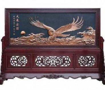 东阳木雕仿古门窗落各种工艺地罩