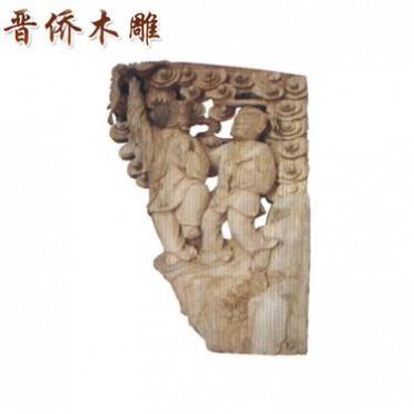 可按客户要求定制 现代中式木雕牛腿 精美镂空木雕牛腿