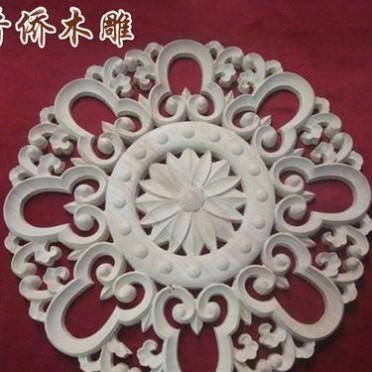 可按客户要求定制 现代工艺欧式木花 精品雕花欧式木花