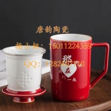 特美刻不锈钢水杯保温杯定做双层玻璃杯促销礼品杯商务礼品对杯陶