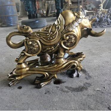 铸铜华尔街牛制造 铸造铸铜华尔街牛雕塑 永飞雕塑