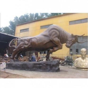 铸铜牛华尔街牛 铸铜开业大牛 景区铜牛铸造厂 永飞铜雕