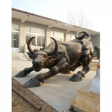 加工生产铸铜华尔街牛 永飞雕塑 大型铸铜华尔街牛