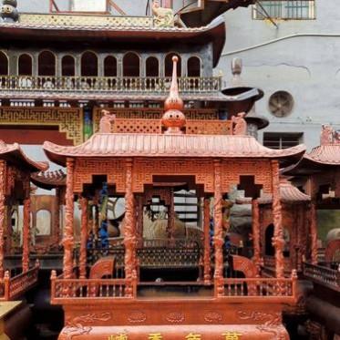 供应寺庙长方形铸铁香炉 定做长方形铸铜香炉 香炉批发供应商
