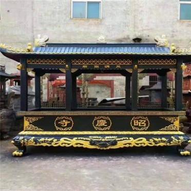 长方形香炉厂家 长方形香炉定制 铸铁香炉 昌东铸铜香炉