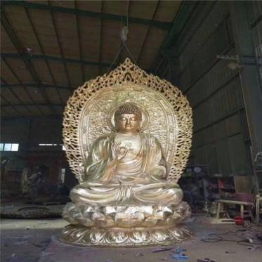 浙江生产铜雕佛像厂家 铸铜佛像制造公司 寺庙铜佛像定做厂家