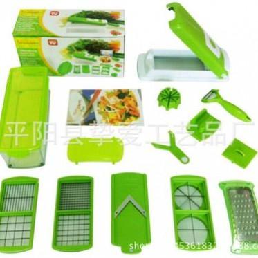 TV产品Nicer Dicer多功能切菜器 12件套切菜器 沙拉机