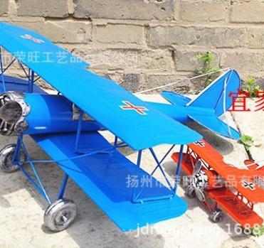 大号红男爵飞机模型 橱窗用品 酒吧道具 定做特大飞机模型