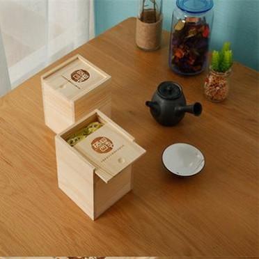 定制 茶叶包装盒礼品盒收纳盒实木普洱包装盒木质茶叶罐包装木盒