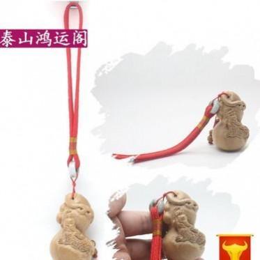 批发木质手把件 貔貅葫芦招财 木雕工艺品挂件摆饰 把玩佳品