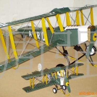 定做特大  静态飞机模型  1-2米 铁皮战斗机 可吊装在屋顶