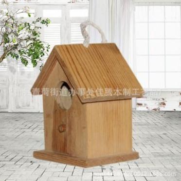 批发简易木质鸟笼工艺品 鸟笼礼品盒 创意鸟笼工艺品 厂家供应