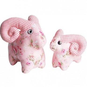 DIY手工玩偶公仔娃娃十二星座白羊座布艺批发羊年礼品采购会公司