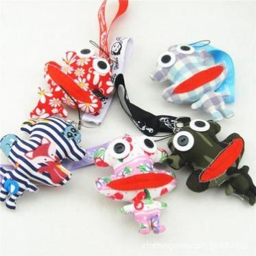 纽扣布娃娃猴公仔挂件毛绒玩具喜庆布娃娃玩偶送女友包链多色