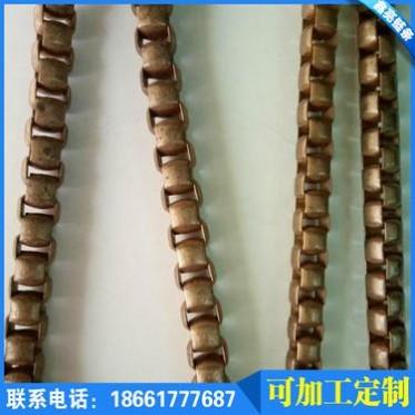 青岛4mm  5mm 狐尾 7mm 扁狐尾 铜链  铁链  项链 鞋帽装饰链
