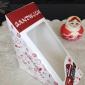 厂家订做三明治盒子 大小号纸盒子 专业生产食品盒 白卡纸盒子
