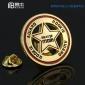定制金属徽章各种工艺logo车标订做胸牌校班徽胸针章设计纪念品币
