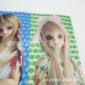 卡通美女芭比箱包3D5D6D画片三维立体画外贸订制